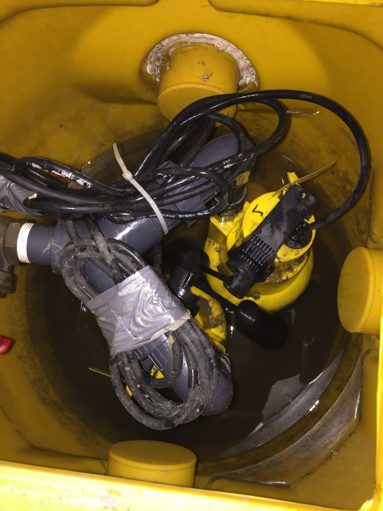 Sheffield Sump & Double Pump we were called to service.