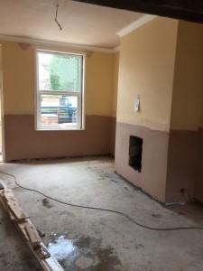Finished damp works (Barnsley)