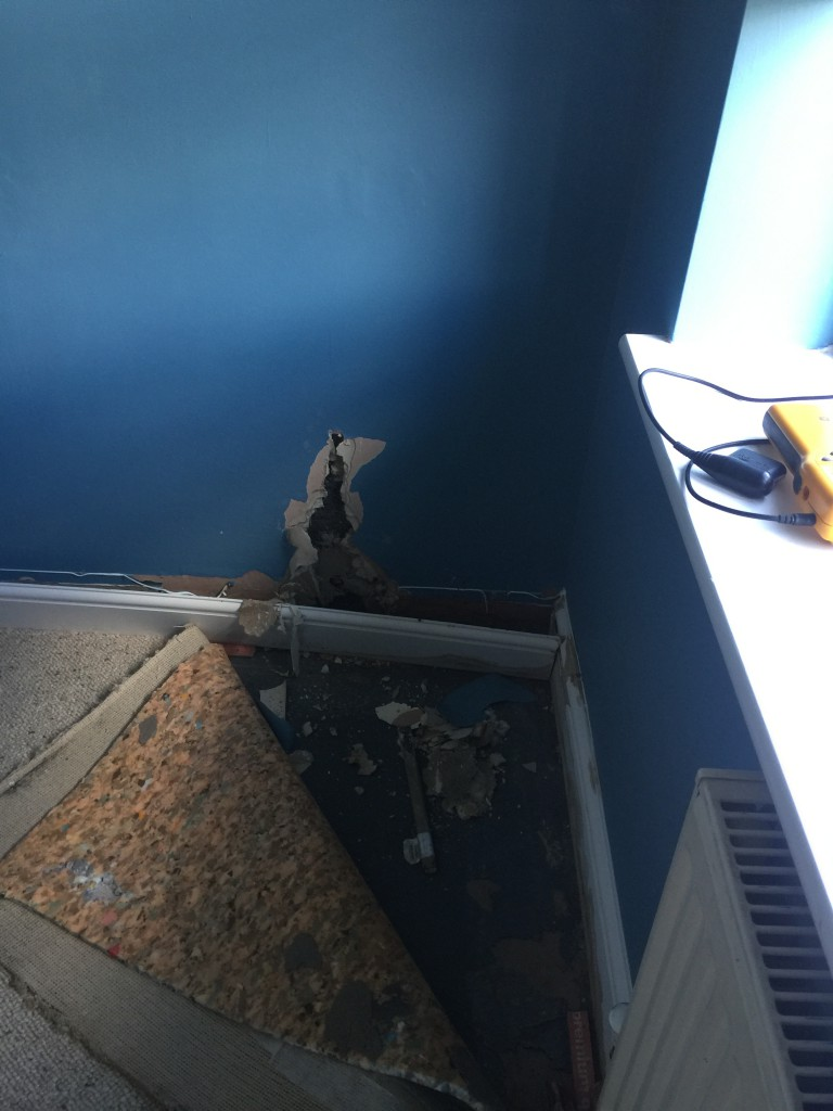 The Surveyor sought permission to open up the wall.