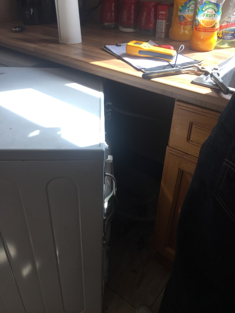 The Culprit, Leaking washer causes damp issues in Barnsley