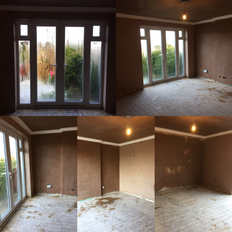 Before & After Plastering in Barnsley