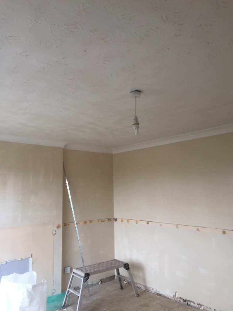 Second Plastering Job