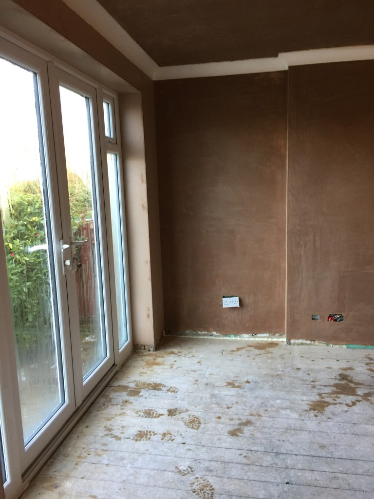 Plastered Room Finished at this Barnsley Property.